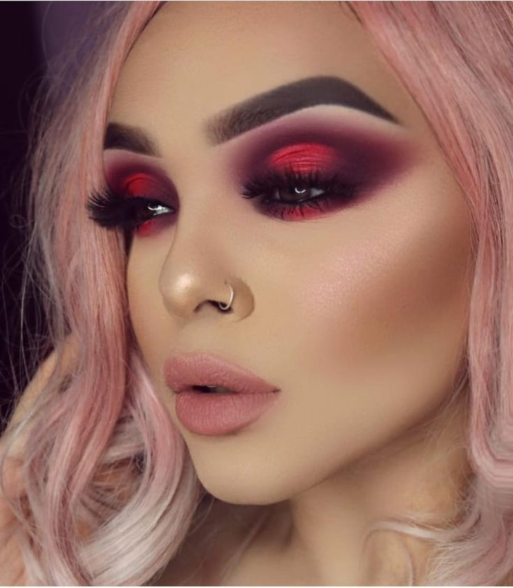 This eye look is literally just gorgeous  straight fire
