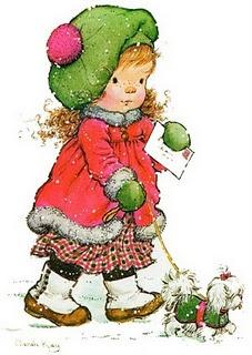 Sarah Kay.... Petite j'aimais bien... Reste un charme désuet et une jolie madeleine de Proust.