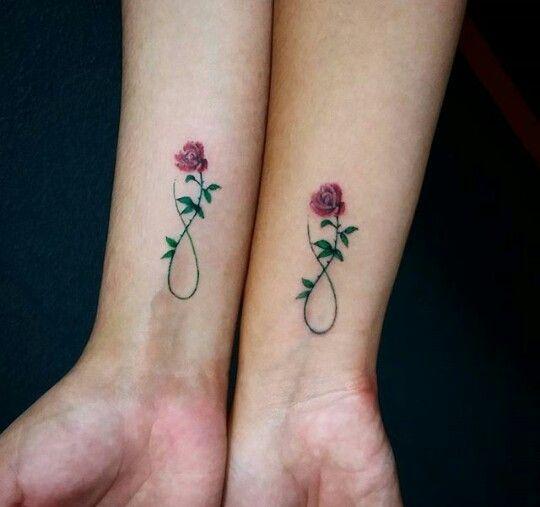 Matching roses