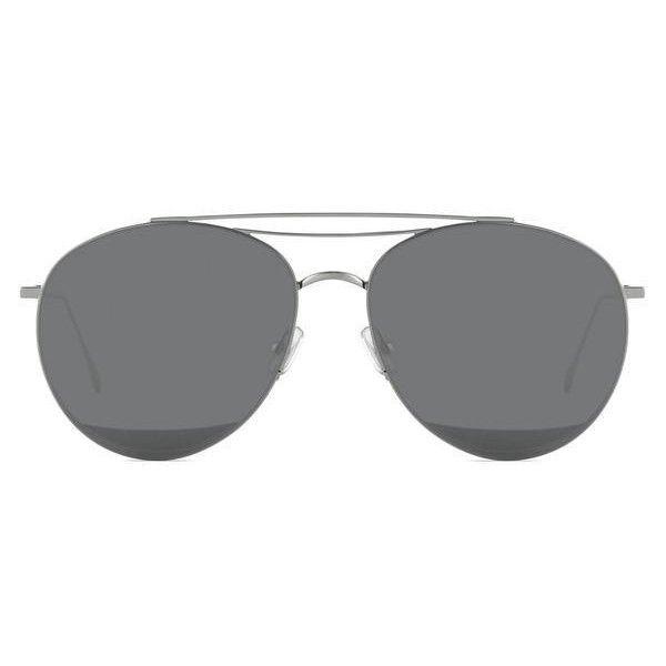 Gentle Monster Odd Odd Aviator In Black ($320) ❤ liked on Polyvore featuring accessories, eyewear, aviator, black, sunglasses, mirrored glasses, mirror aviators, mirror glasses, mirrored aviator glasses and mirrored aviators
