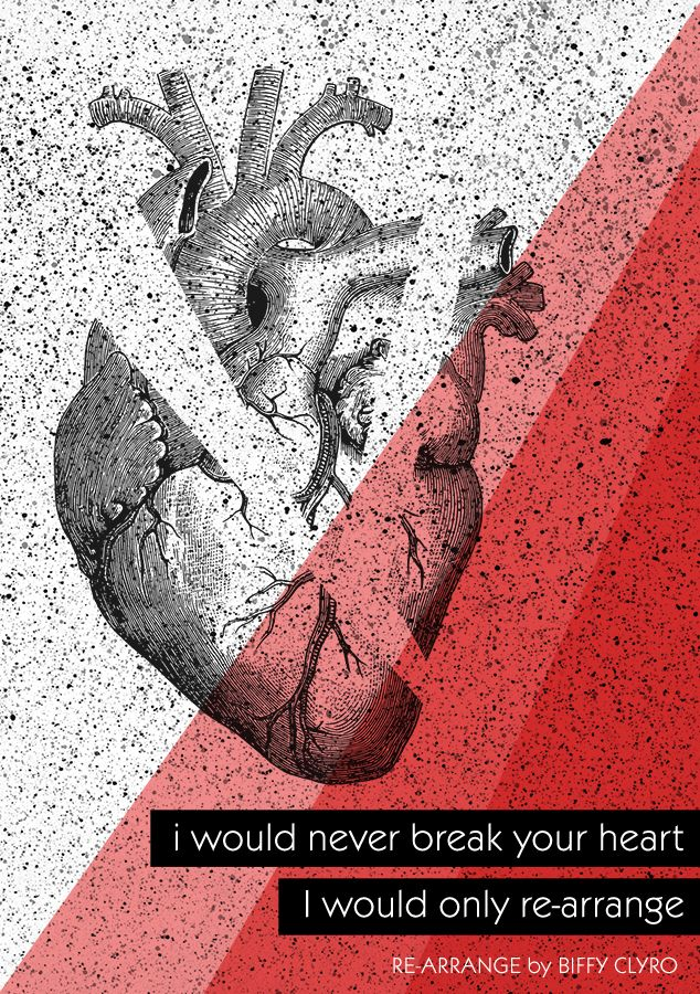 So in love with the new BIFFY CLYRO album!  lyric illustration: doro kaiser #biffyclyro #lyrics #lyricart #quoteart #love #heart