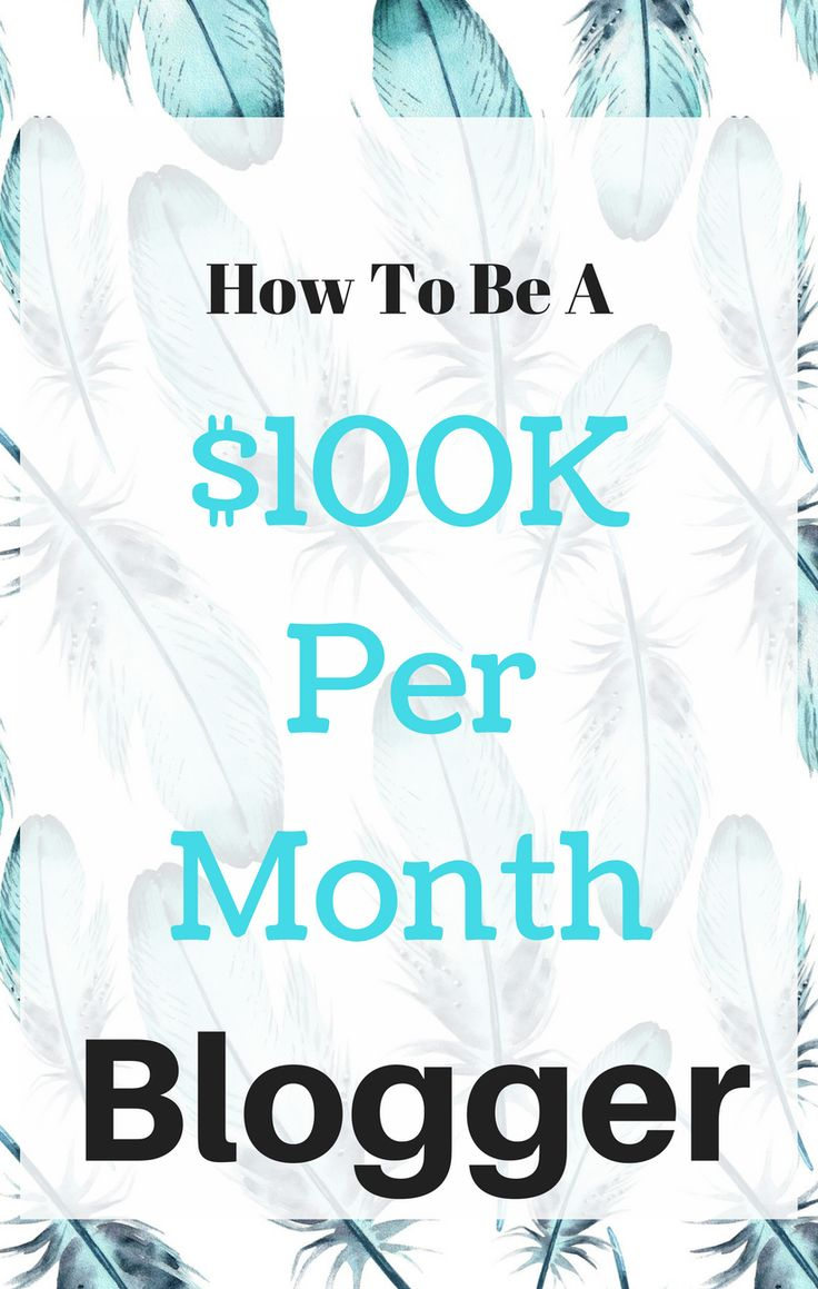 You keep hearing about bloggers who make six figures per month...but how are they doing it? Here's one blogger's story about where half of her $100K per month earnings come from.