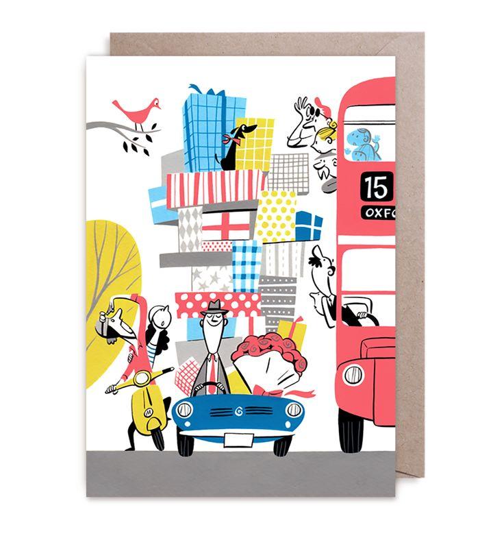 Greeting card by Satoshi Hashimoto | LAGOM DESIGN