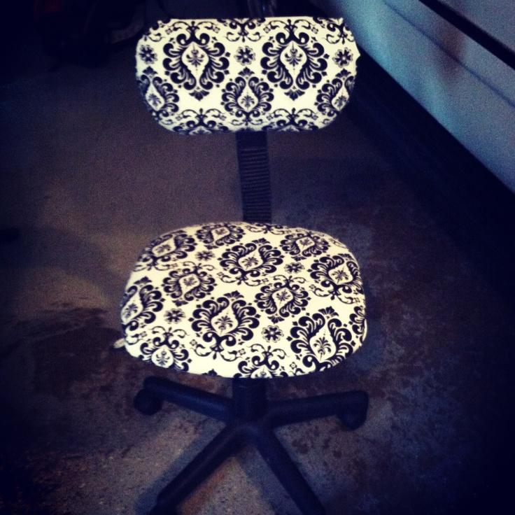 Computer Desk Chair #diy