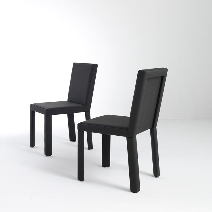 BD 20 - Wooden chair, completely or partly upholstered in leather or fabric. Padded backrest and seat designed by Bartoli Design | Laurameroni