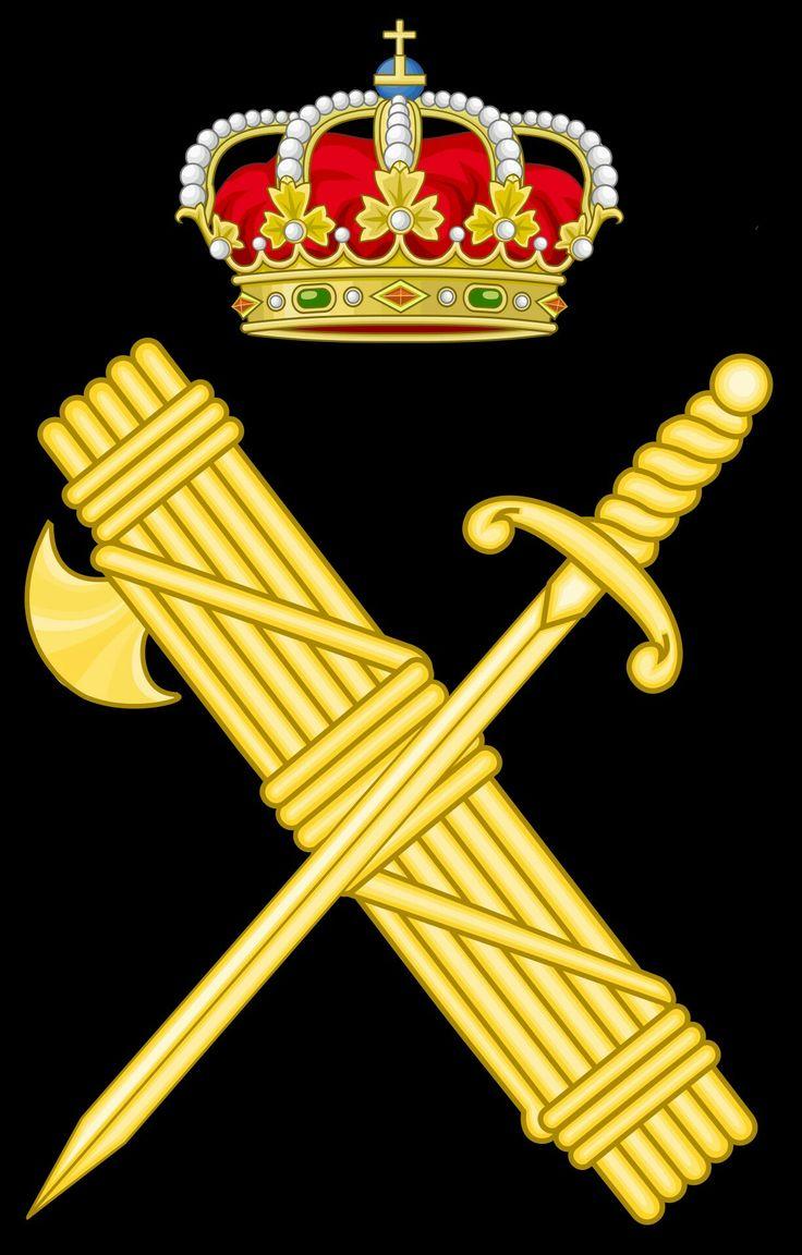 Emblemas de la Guardia Civil .