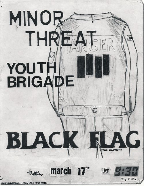 Minor Threat w/ Youth Brigade and Black Flag