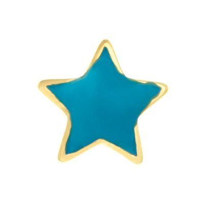 Blue Star Charm #LilyAnneDesigns #Charms #MissLilyCollection #LittleLady