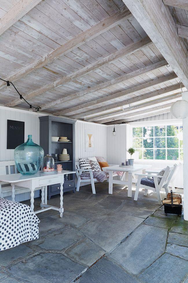 Ideas... muchas ideas en esta casa de campo nórdica! ¿Cuál es tu estancia favorita?