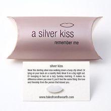 Sterling Silver Kiss - Love Token