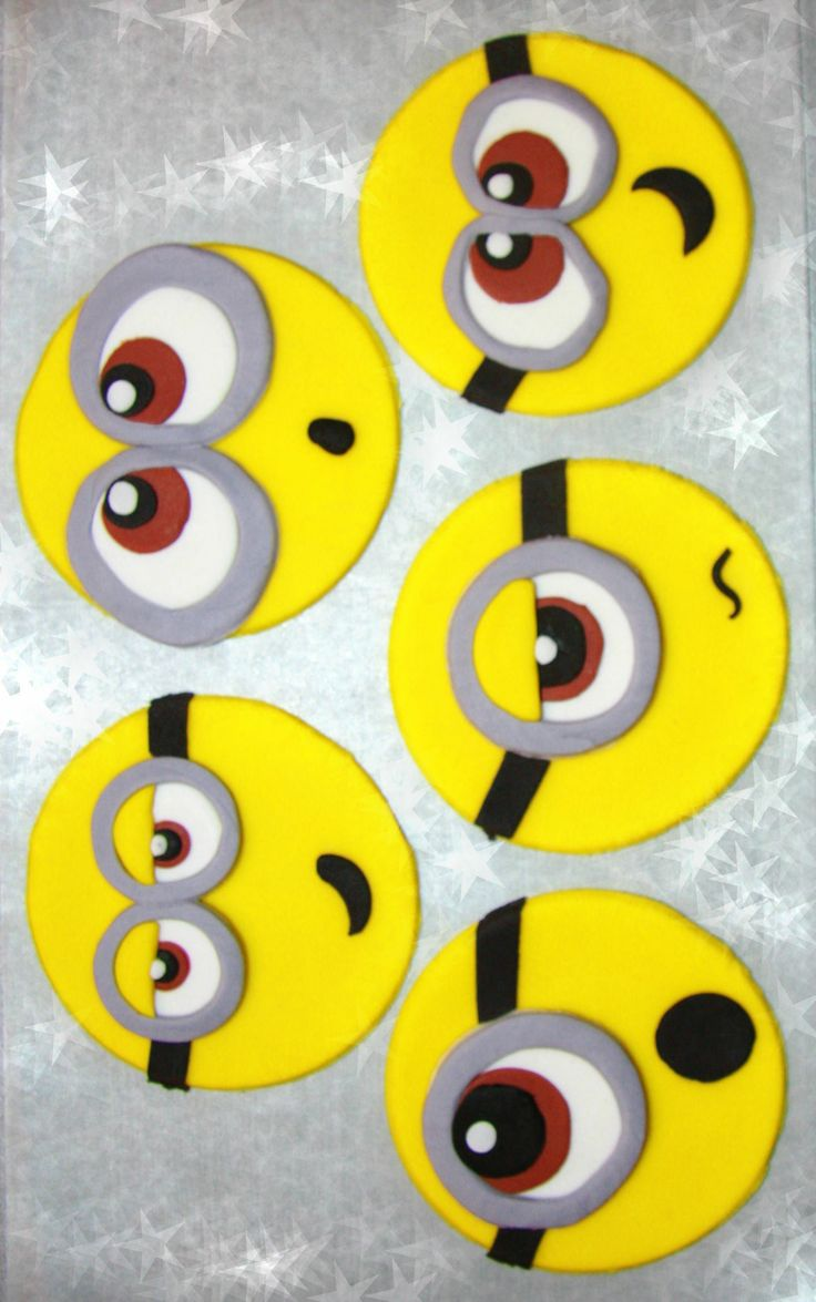 Minions! - Minion Cupcake Toppers