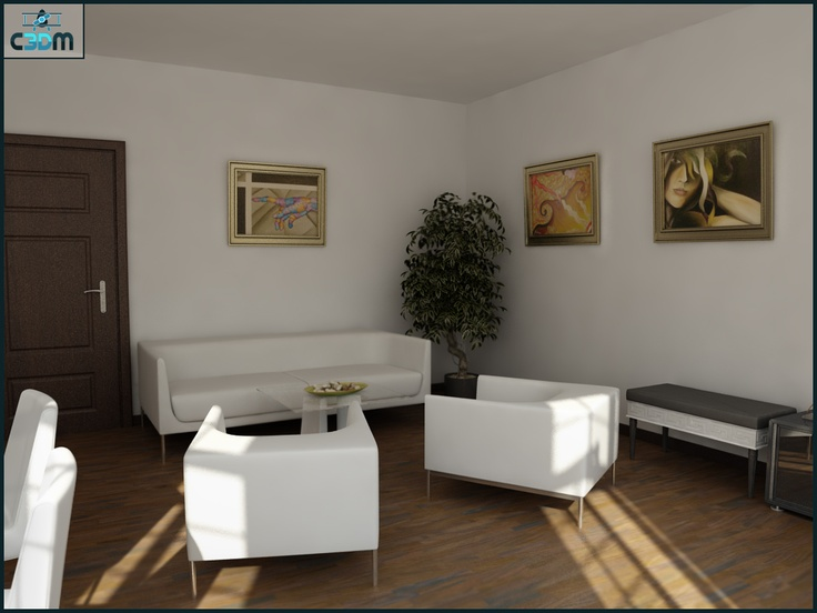 3D Graphic Design  Living Room