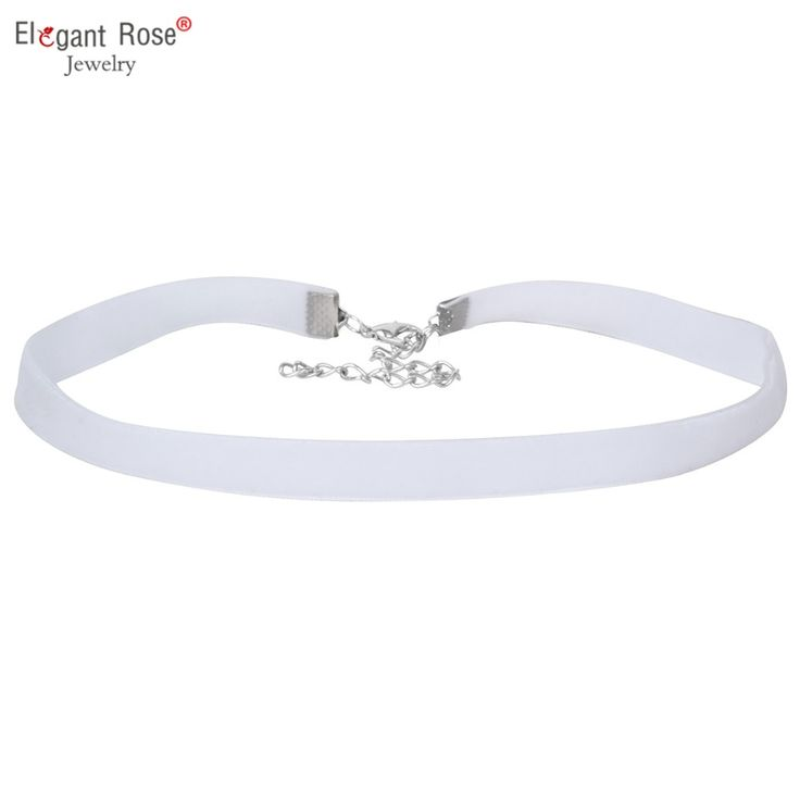 Wholesale Elengant Choker Purple Black White Pink Velvet Handmade Choker Necklace for Women Jewelry Plarty NR3491