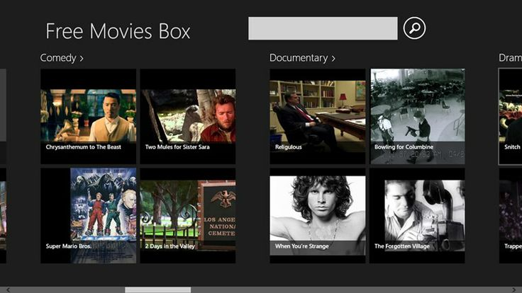 Free Movies Box // Watch hundreds of HD movies for free! Free Movies Box is an app that allows watching full-length, uncut Hollywood movies in HD quality. Free Movies Box concentrates on carefully chosen movies organized in people's favorite genres - like action & adventure, animation, comedy, documentary, drama, family & kids, foreign, horror, music & performing arts, mystery & suspense, romance, scifi, fantasy, sport & fitness, war, western.