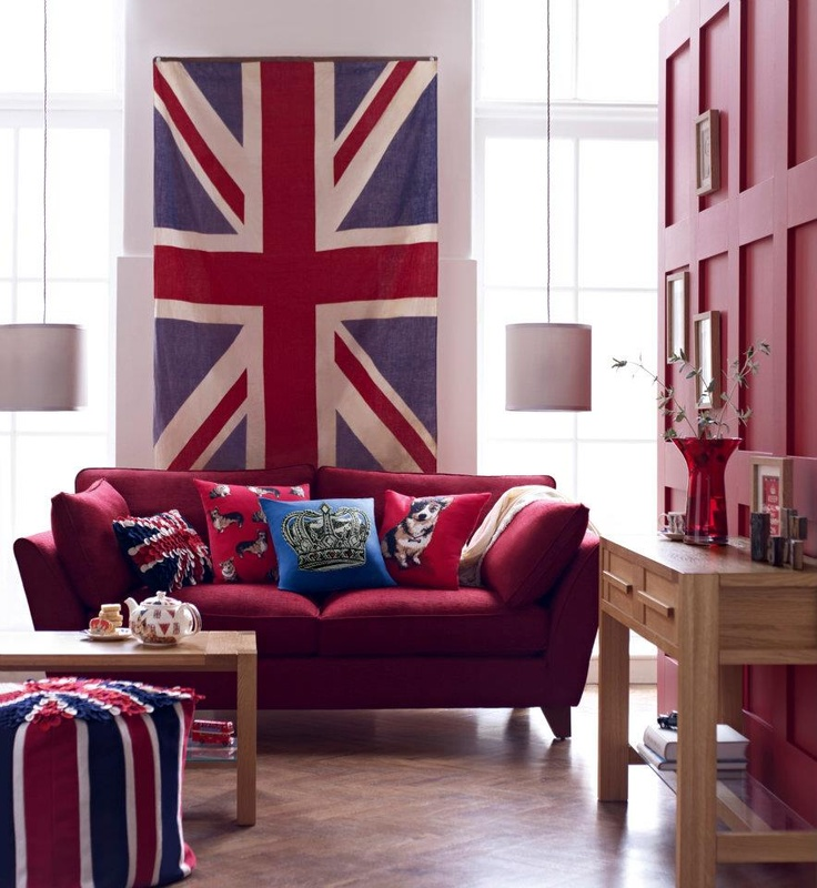 This could only come from Marks and Spencers.  The best of British to celebrate the Queen's Jubilee