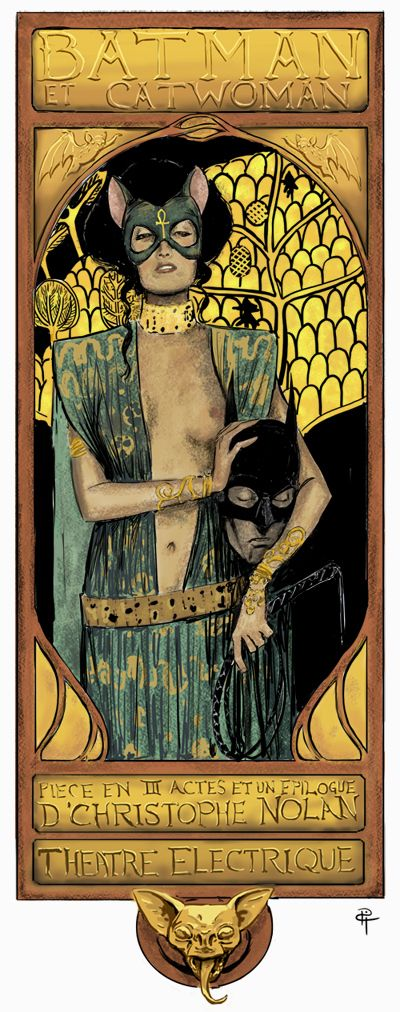 Batman et Catwoman - Piece En III Actes et un Epilogue - D'Christophe Nolan - Theatre Electrique