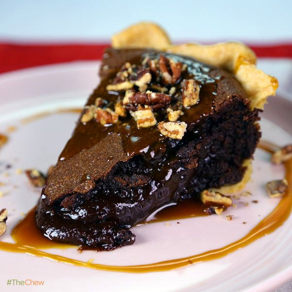 Chocolate Lava Pie by Carla Hall! #TheChew #Dessert