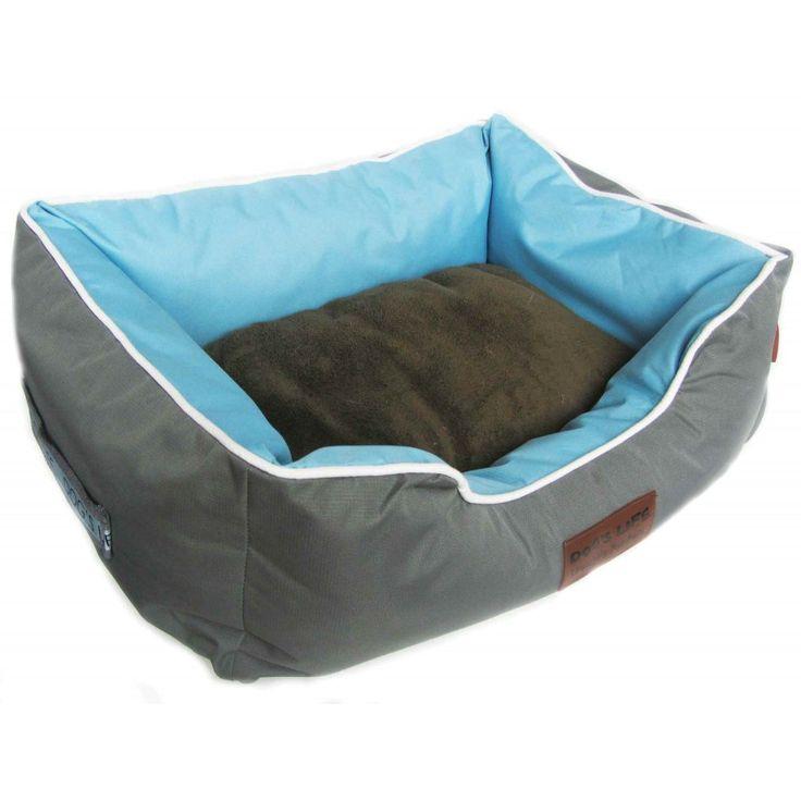 Dog's Life Premium Country Waterproof Bed Grey