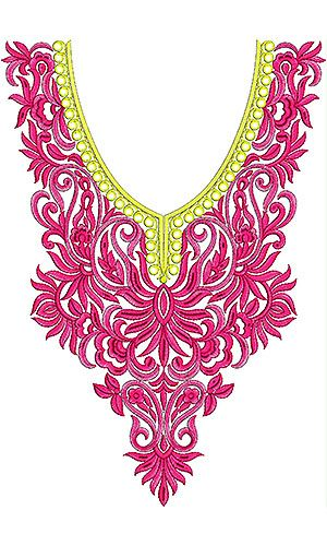 Djellaba Embroidery Design | Moroccan Embroidery