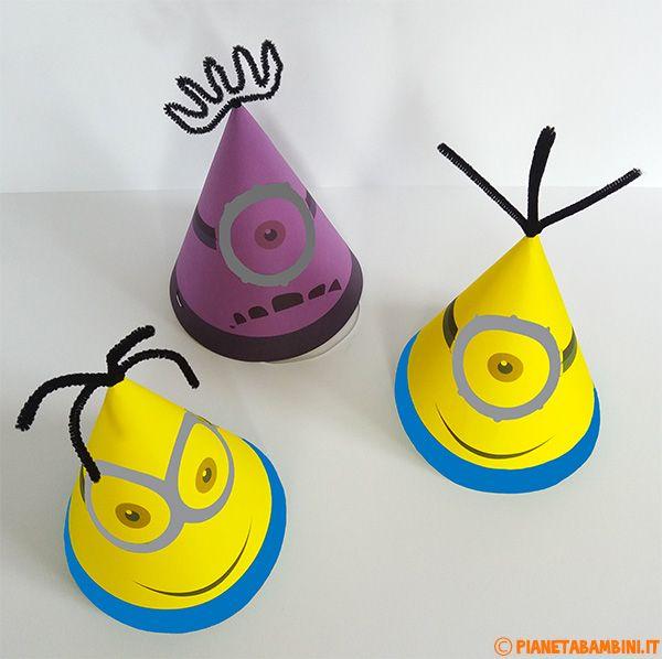 Cappellini dei Minions Fai Da Te