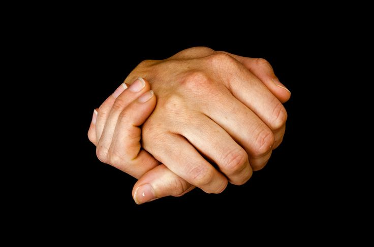 Clasped Hands Free Stock Photo - Public Domain Pictures