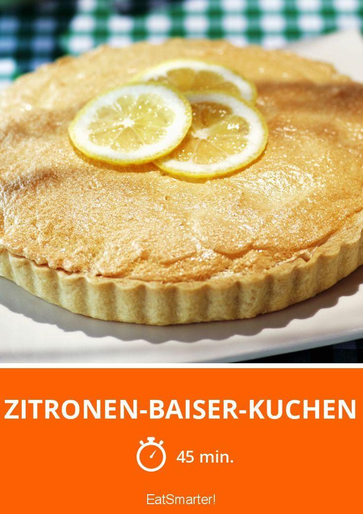 Zitronen-Baiser-Kuchen - smarter - Zeit: 45 Min.   eatsmarter.de