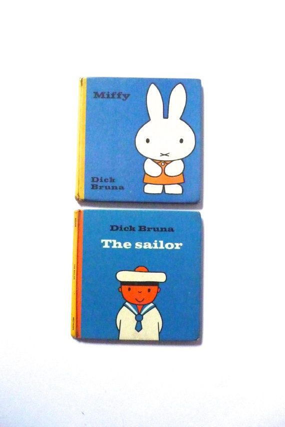 Dick Bruna Books Miffy and The Sailor