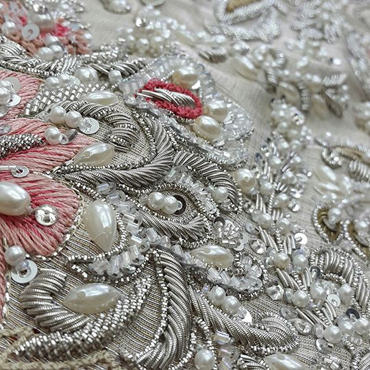 This wedding season opt out of the tired heavy kaamdani convention and instead embrace the undeniable temptation of pristine pearls and sparkling crystal effects. It's all about pearls this season …