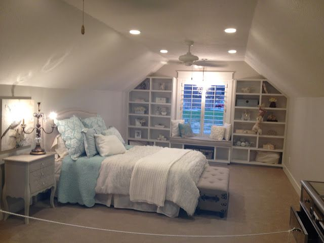 homestead survival decorated girl bedrooms i love this attic room especially the built in shelves