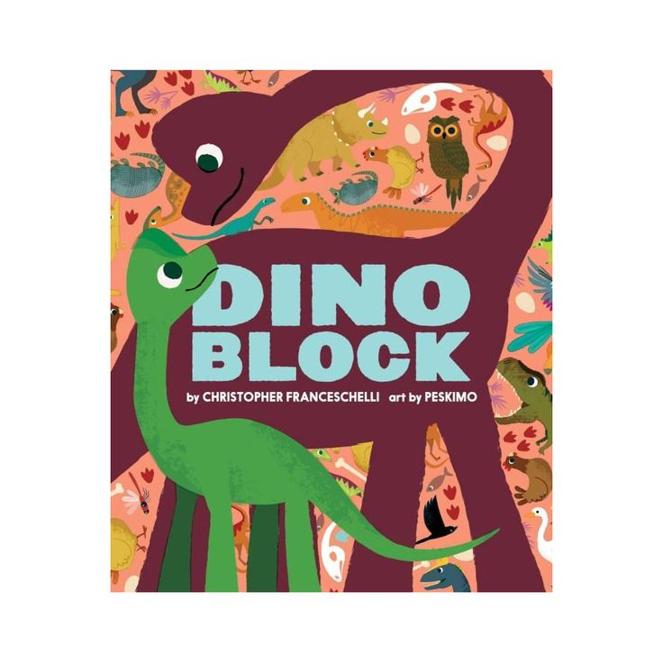 Leo & Bella |   Dinoblock by Christopher Franceschelli (Board Book)