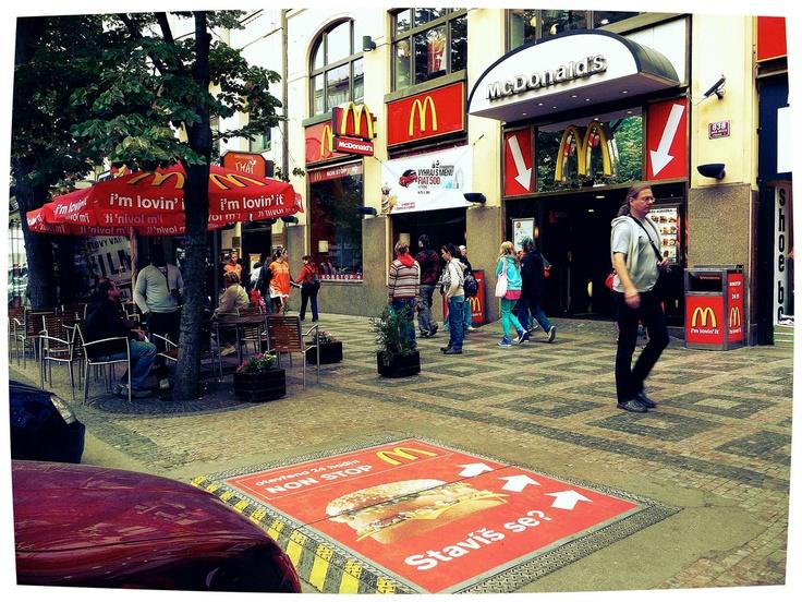 McDonald's a Praga.