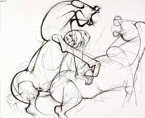 Dumile Feni   #dumilefeni #horses #sketches #southafrica