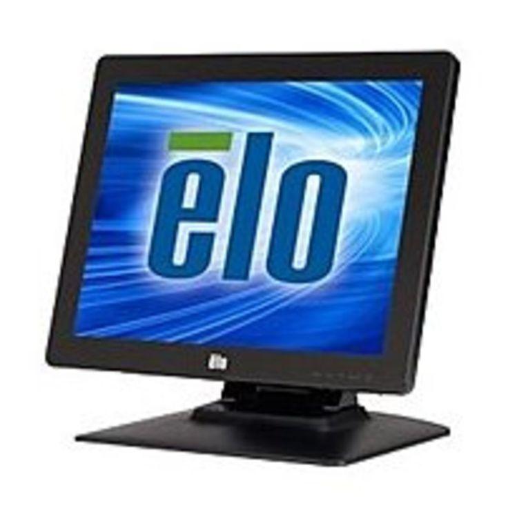 Elo Touch E394454 1523L 15-inch LCD Touchscreen Monitor - 720p - 700:1 - 225 cd/m2 - 25 ms - VGA, DVI - Black