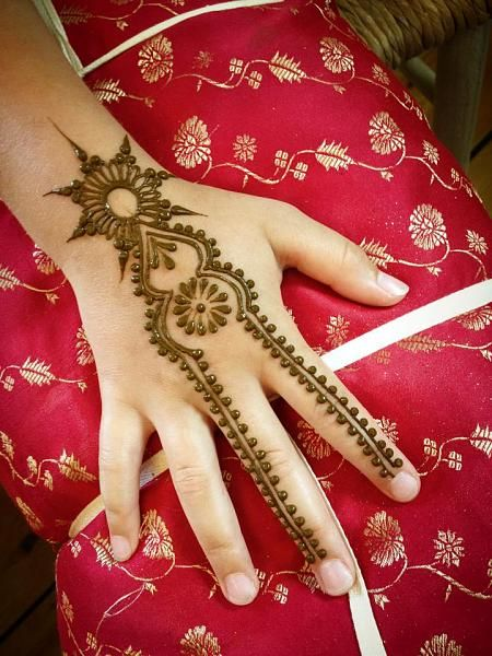 Amzing Heena Designs Like never before .. try this ! Ver easy to apply and looking simply awesome.