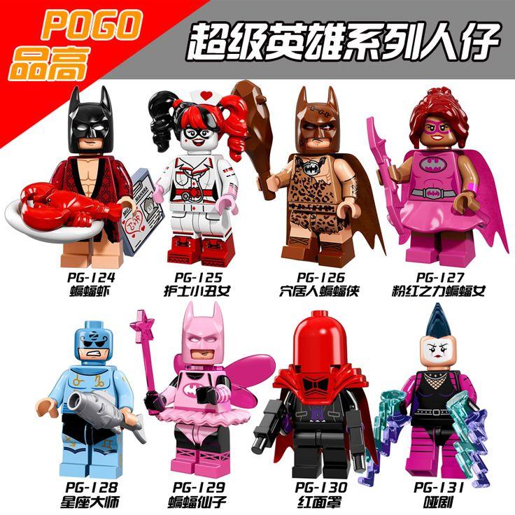Single Sale Figures Zodiac Master Red Hood Batman Movie Batman Limited Edition 71017 Building Block Children Gifts Toys PG8040
