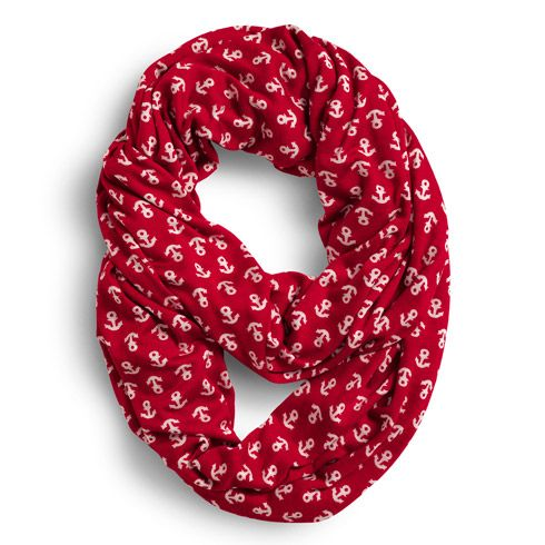 We brought back in the anchor infinity scarf in more colors! #sperry