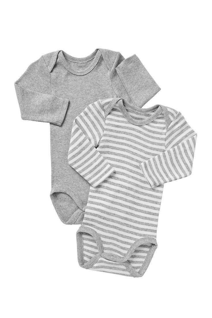 BONDS Long Sleeve Bodysuit 2PK | Baby All in Ones | BZKE