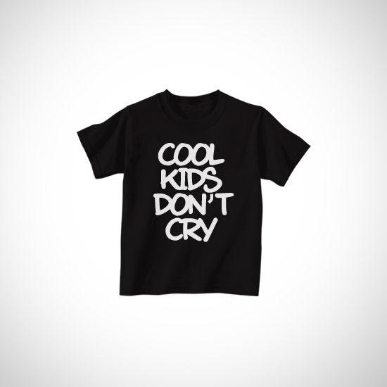Cool Kids Dont Cry dari Tees.co.id oleh Keedos