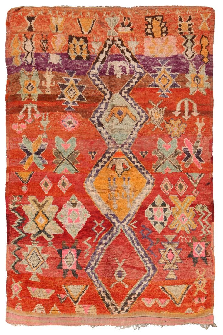 Moroccan Vintage Rugs Number 16750, Vintage Rugs   Woven Accents