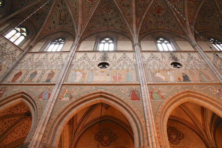 Malowidła ścienne w Wysokim Prezbiterium - Katedra w Uppsali