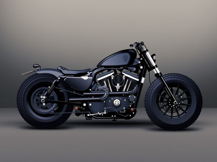 Pictures Of Custom Harley Davidson Sportsters
