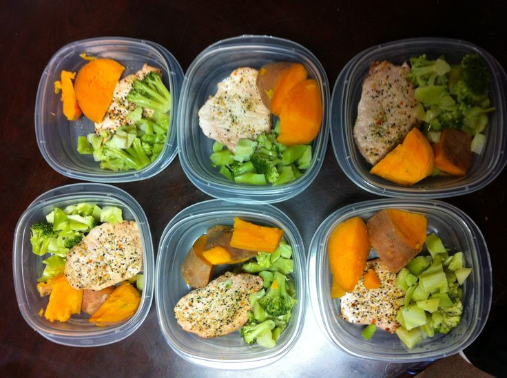 My Advocare 24 day challenge meal plan for days 11,12,13. Lean porkchops with mrs. Dash seasoning, yams and broccoli.