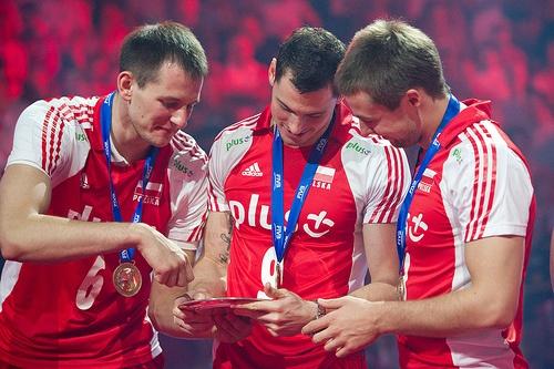 Bartosz Kurek , Zbigniew Bartman and Michal Kubiak Fot. Mariusz Pałczyński / http://www.facebook.com/MariuszPalczynskiPhotography
