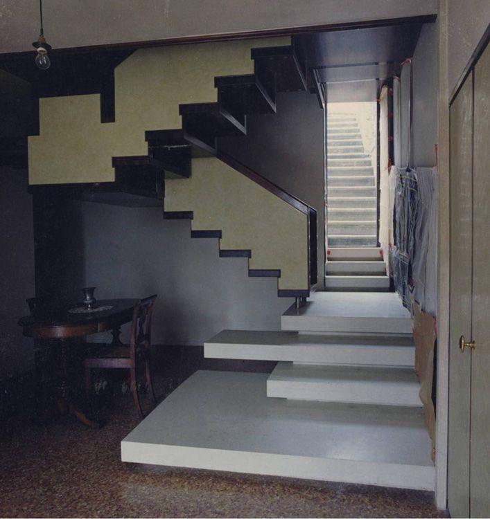 carlo scarpa / scale in venezia - laboratiorio morseletto per la architettura