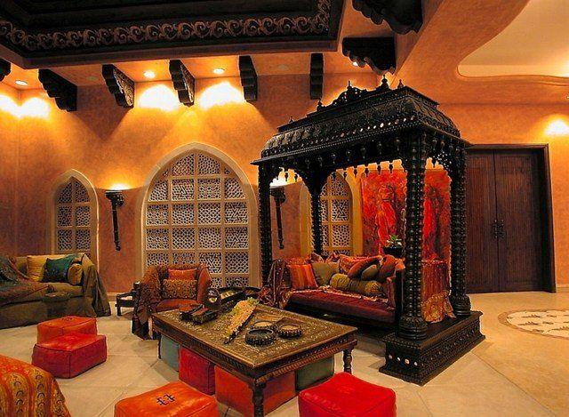décoration du salon marocain classique par Ibrahim Radwan