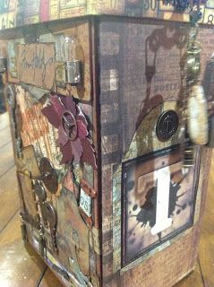 Tim Holtz Storage Unit (inspired by Harry Potter Wizard's Collection)