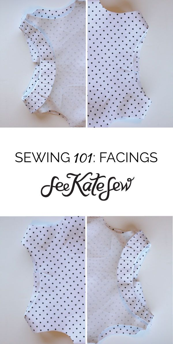 For this week's sewing 101, let's talk about facing. Facings are so easy to make and give your garment a professional finish, without a full lining. Of course you can face and line a garment, which makes it so nice and fancy on the inside. But facings on their own are more economical and great …