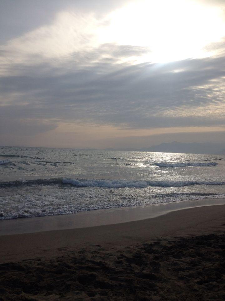 Beach - Clouds - Italy - Battipaglia