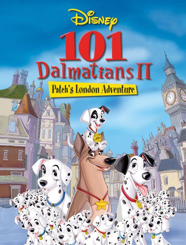 An Authoritative Ranking Of Disney Sequels 101 Dalmatians All Disney Movies Animated Movies
