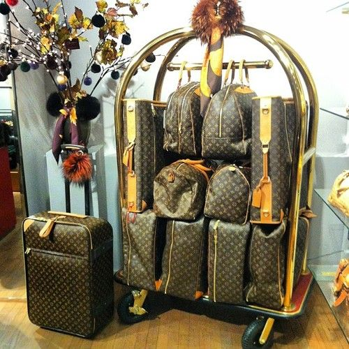 Definitely a must! An entire suite of Louis Vuitton luggage. A LITTLE HAND LUGGAGE THE REST WILL FOLLW BEHIND!